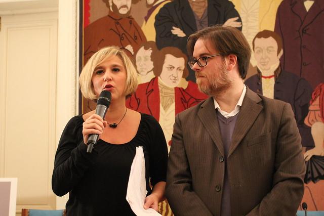 Valentine Goby (CPE) et Simone di Conza (FUIS)