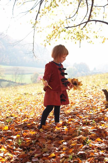 Tenue fée d'automne, 4 ans