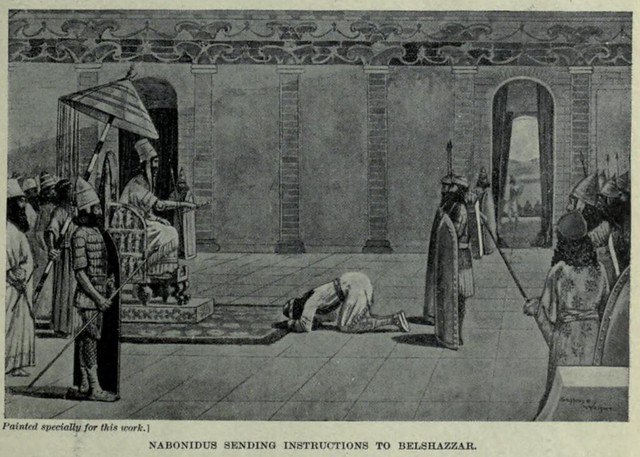 Header of Nabonidus