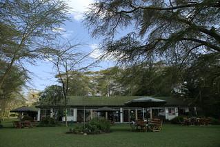 Elsamere.  Lake Nakuru, Kenya.