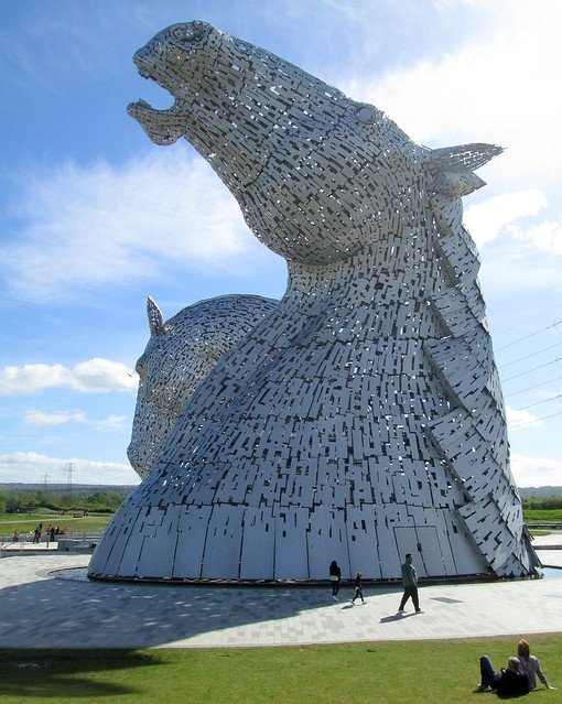 The Kelpies and Shadows