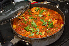 Spicy Chicken With Potatoes and Cilantro 5307