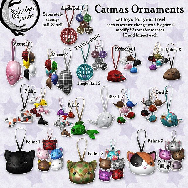 catmas ornaments