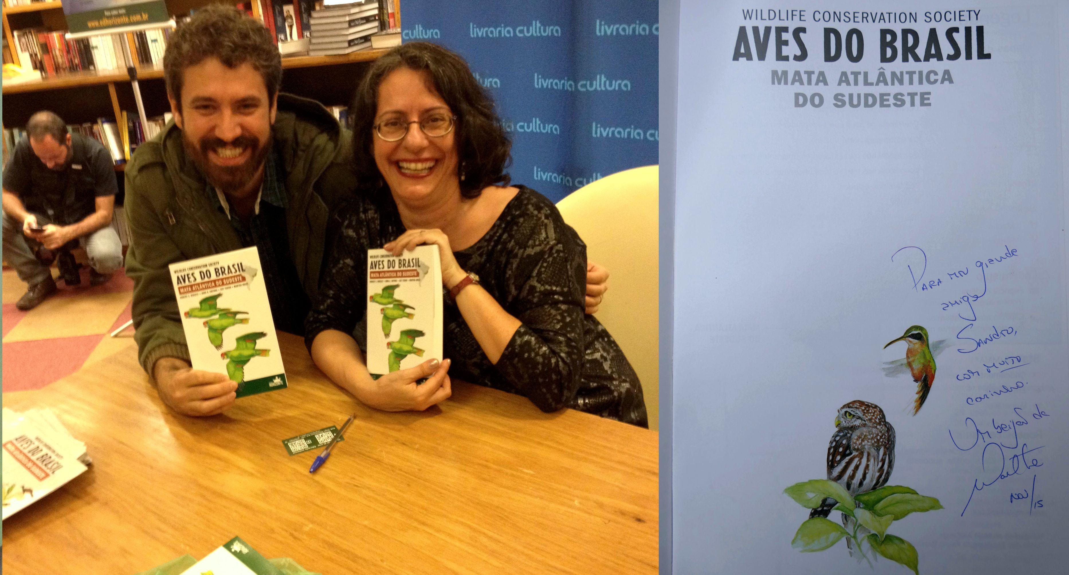 Lançamento Livro Aves do Brasil