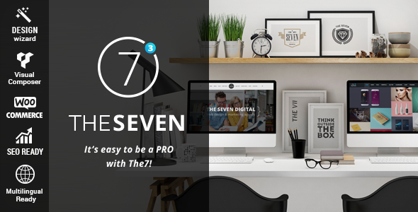 Themeforest The7 v3.0.1 Responsive Multi-Purpose WordPress Theme