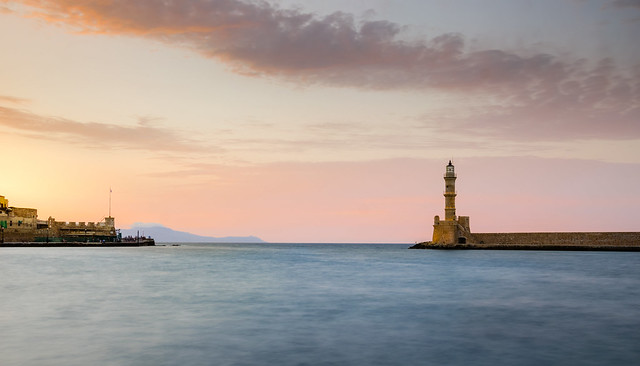 Chania Old Town Harbour-