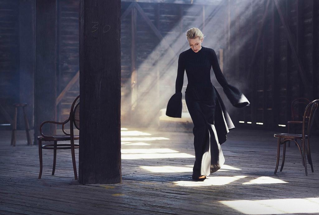 Кейт Бланшетт — Фотосессия для «Vogue» AU 2015 – 4