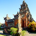 Bali 2015, Pura Puseh Temple Batuan, beautiful blue skies temple architecture weru WM