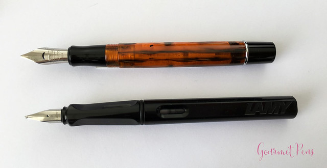 Review Conklin Duragraph Fountain Pen - 1.1 mm Stub @GouletPens (7)