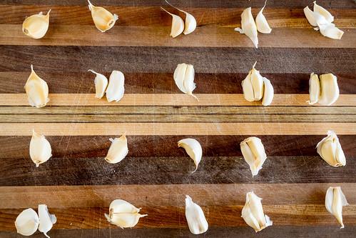 20 large cloves of garlic
