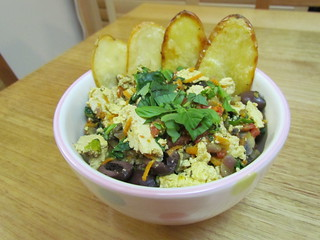 Mediterranean Tofu Scram-Bowls