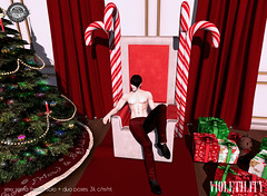 Violetility Sexy Santa Throne