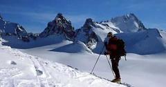 Skialpinistické terény Švýcarska