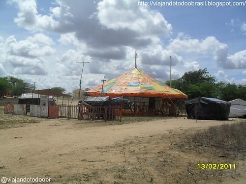 Craíbas - Circo no povoado de Travessia
