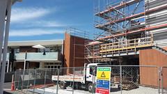 Matuku Takotako: Sumner Centre construction
