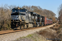 NS 9229 | GE C40-9W | NS Memphis District