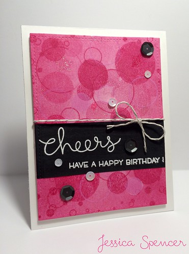 Let's Bokeh Birthday card