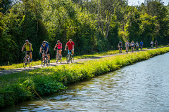 Canal Side Cyclists