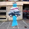 """Developing machine n.1"" Mural painting realized for the @visionartfestival in @cransmontana (CH), august 2015. #nevercrew #streetart #cransmontana #visionartfestival #VAFcransmontana #VAFswitzerland #urbanart #art #swissstreetart #stencilart #wip #abstra by NEVERCREW (www.nevercrew.com)"