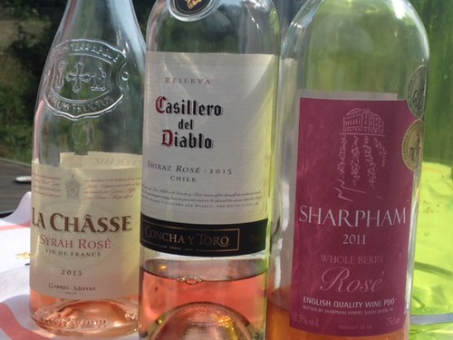 French, Chilian and English Rose Wine