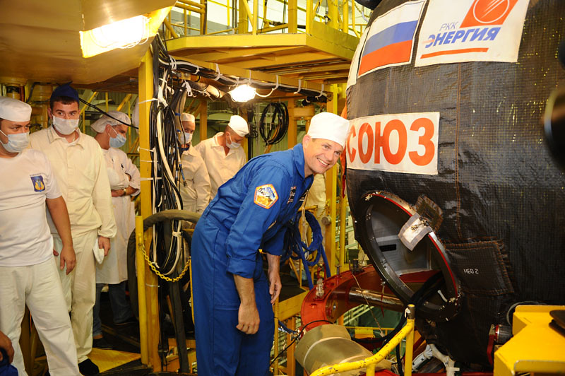 Launch Preparation in Baikonur