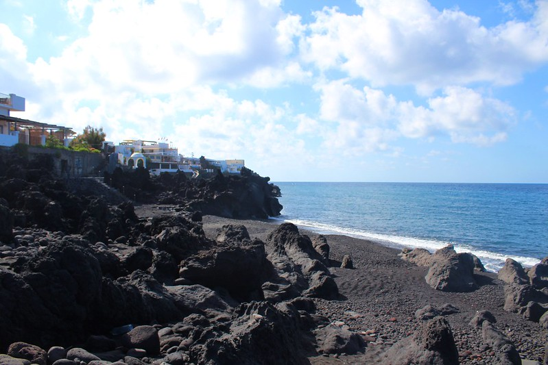 Black Beach at Stromboli