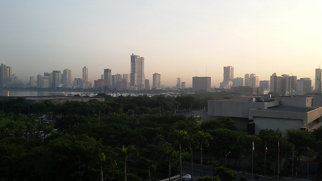 Manila from my hotel room