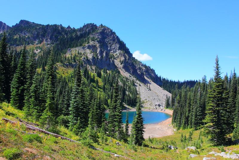 IMG_6224 Upper Palisades Lake, Mount Rainier National Park