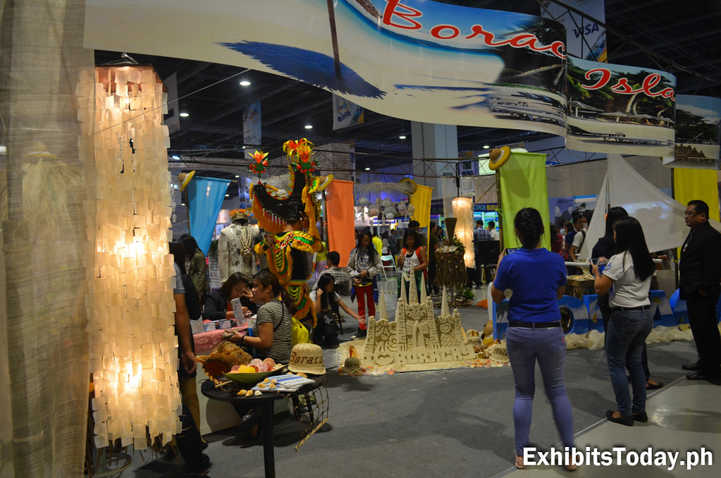 Boracay Island Exhibit Booth