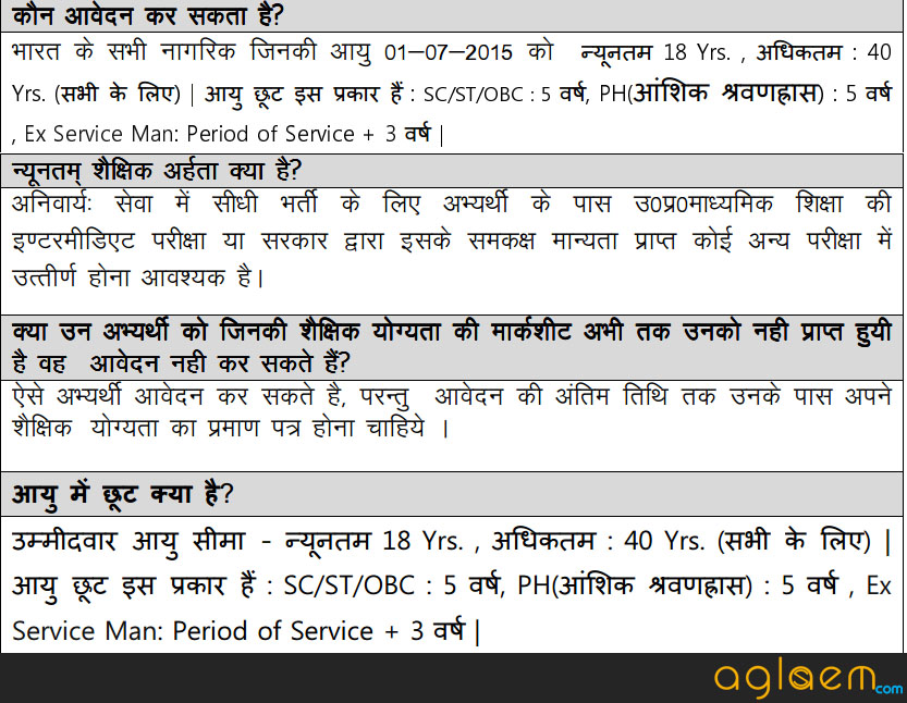 UP Lekhpal Recruitment Result