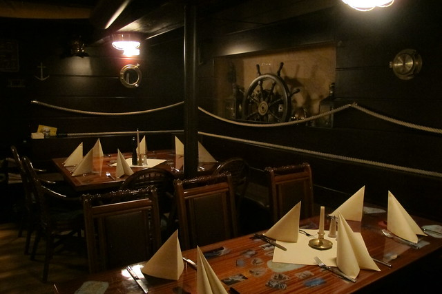 Nautical room at Kon-Tiki