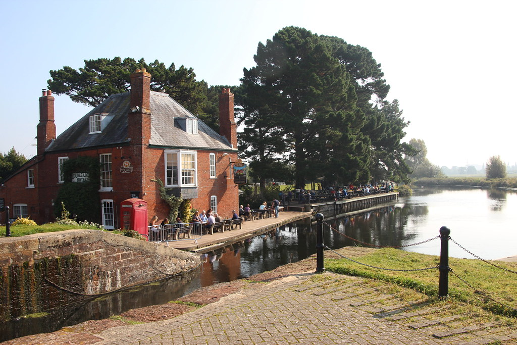 Exeter Double Locks Hotel | A day in Devon taking Charlie fo