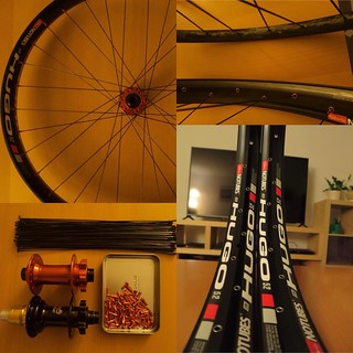 Hugo is here #custom #ztr #hugo #stansnotubes #hope #boost110 #boost148 #dtswiss #revolution #6fattie for #specialized
