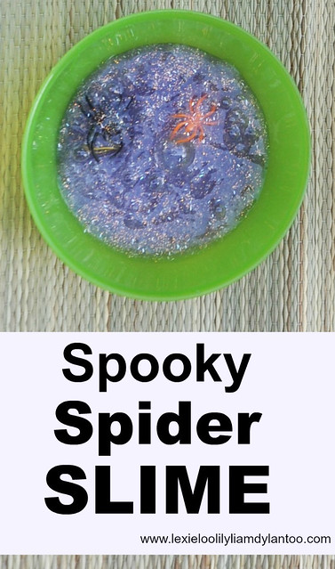 Spooky Spider Slime