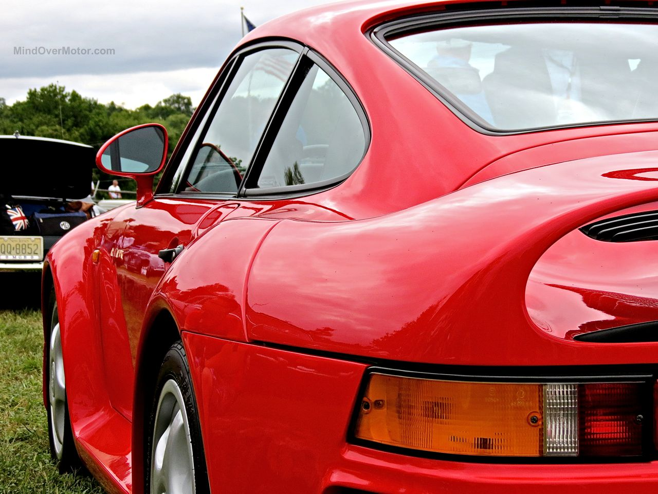 Radnor Hunt 2015 Porsche 959 Rear