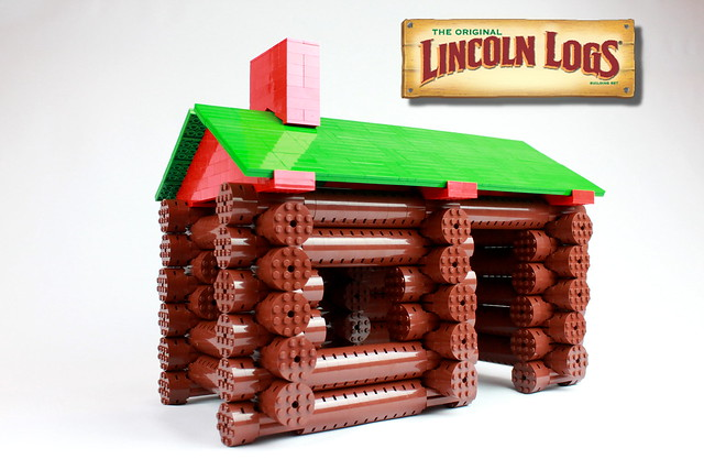 LEGO Lincoln Logs 1