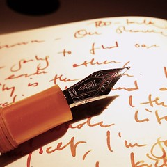 Delta Profili with #Iroshizuku Yu-Yake #writing #fountainpen #pen #ink