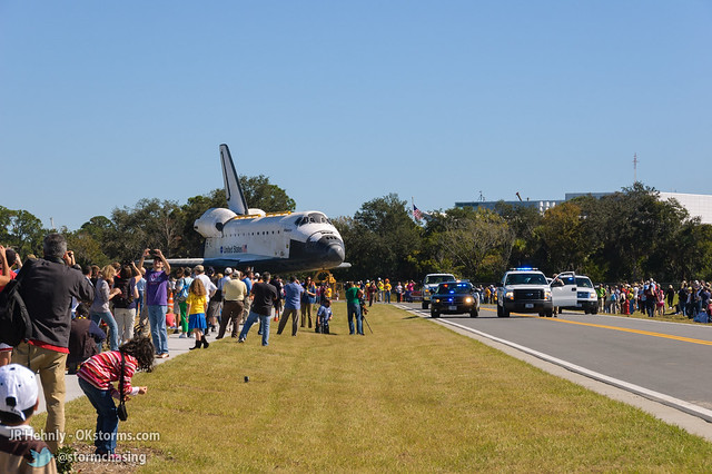 Fri, 11/02/2012 - 11:54 - The Space Shuttle Atlantis finally arrives! - November 02, 2012 11:54:46 AM - , (28.5138,-80.6742)
