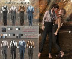 Caboodle - Sailor Outfits @GEN-Neutral