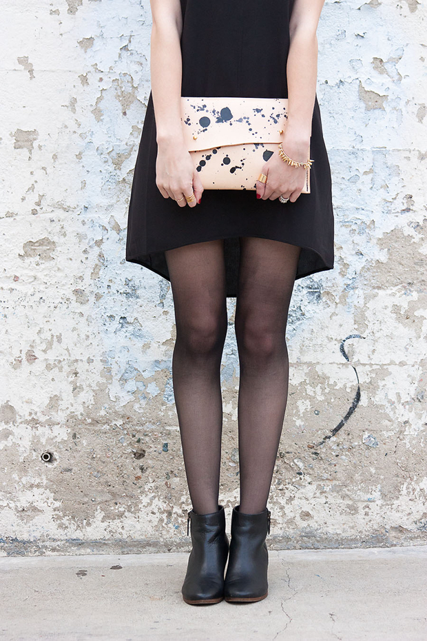 3275d1fb40e A Speckled Clutch and LBD - Jeans and a Teacup