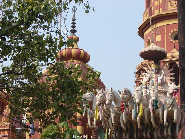 Surya Dev on entrance