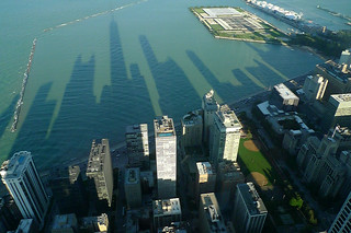 Chicago - 360 Chicago afternoon shadows