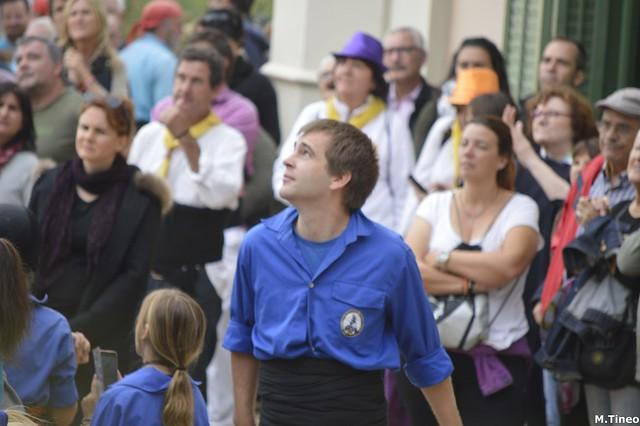 Festes de Tardor de Sant Just, Castellers d'Esplugues