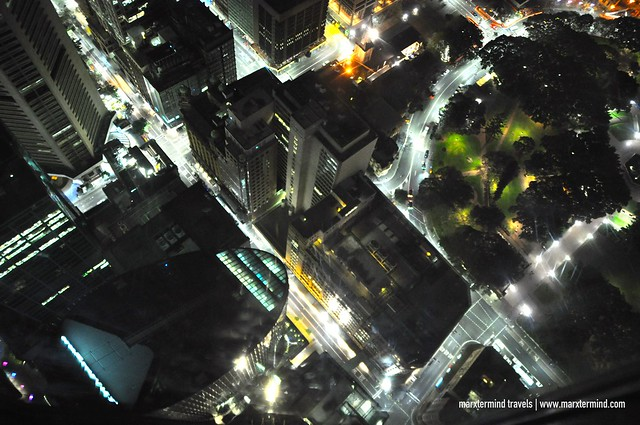 Sydney Tower Eye View from Observation Deck
