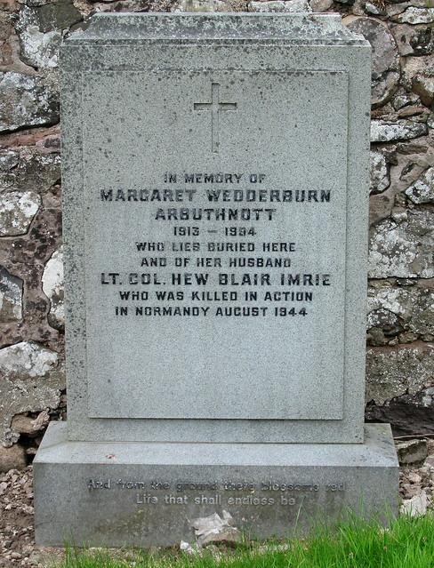 War Grave, Arbuthnott Churchyard