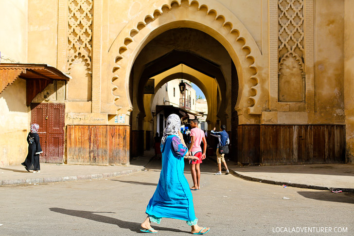 Stroll through the Jewish Quarter / Mella Fes Moroco (21 Amazing Things to Do in Fes Morocco).