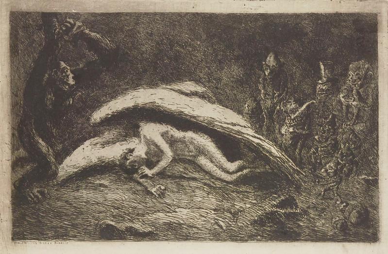 Eugene Viala - Human Symbols #20, The Strange Bird, 1906-07