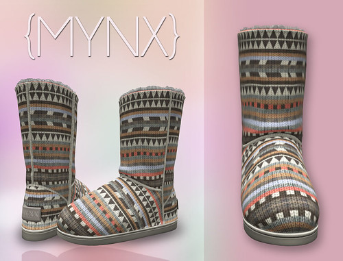{MYNX} Bootie - Tribal Peach