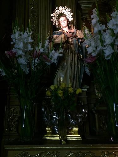 Purísima Concepción.Iglesia de Rincón de Seca,Murcia.
