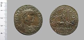 Coin Gallienus, emperor of Rome